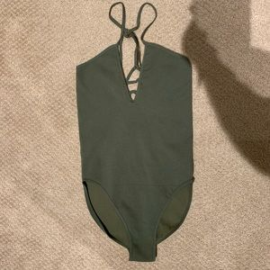 Free People Movement Ribbed Bodysuit. NWOT